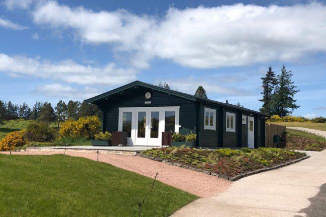Gleneagles Halfway House Log Cabin