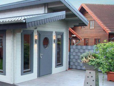 Pent Roof Log Cabins