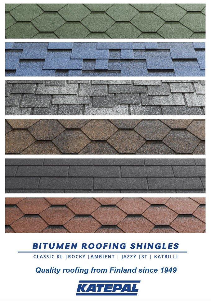 Katepal Roofing Shingles Brochure